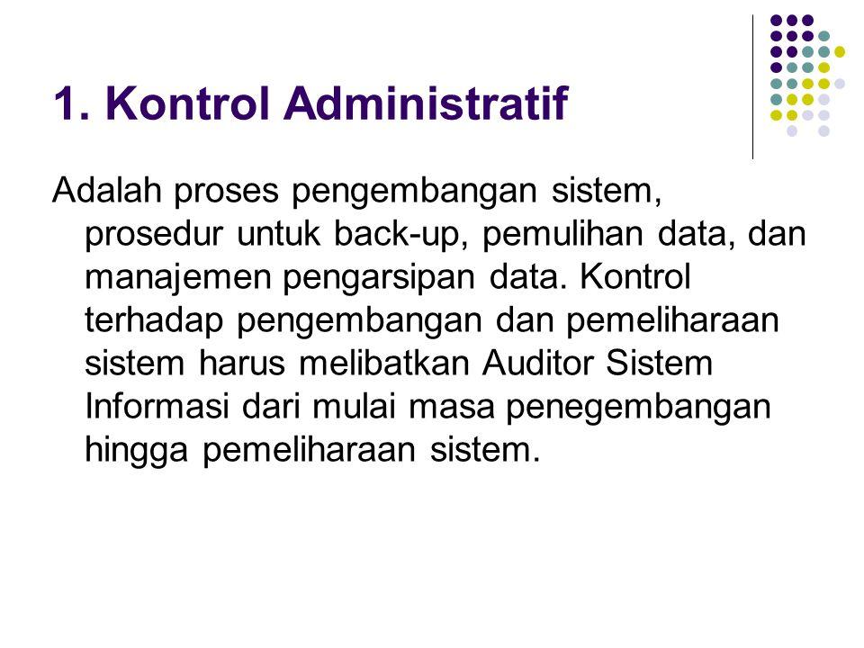 1. Kontrol Administratif
