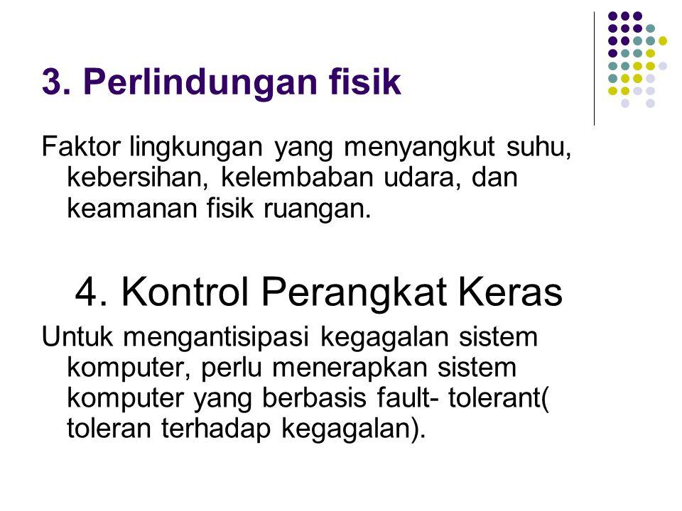4. Kontrol Perangkat Keras