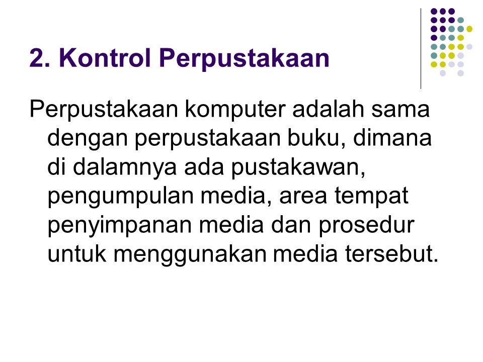2. Kontrol Perpustakaan