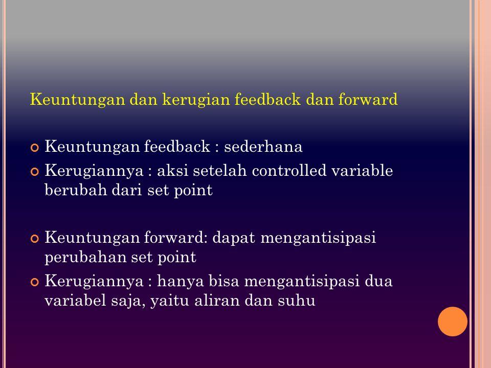 Keuntungan dan kerugian feedback dan forward