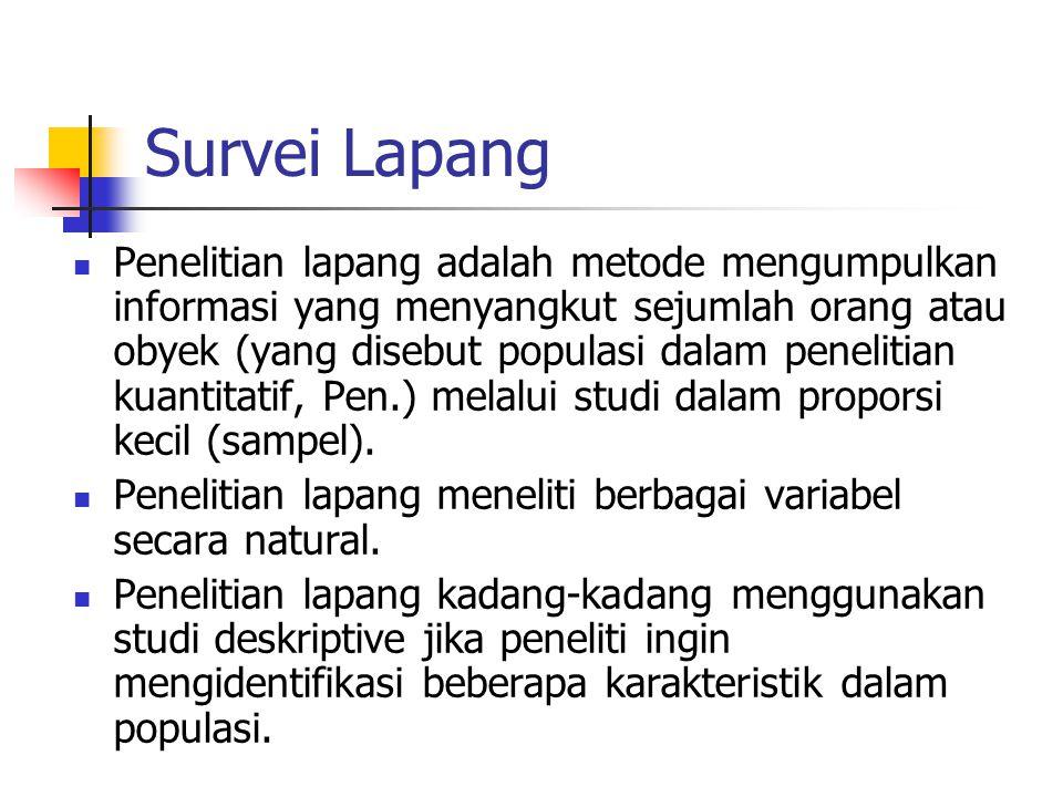 Survei Lapang