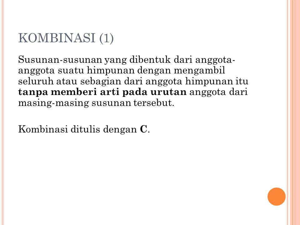 KOMBINASI (1)