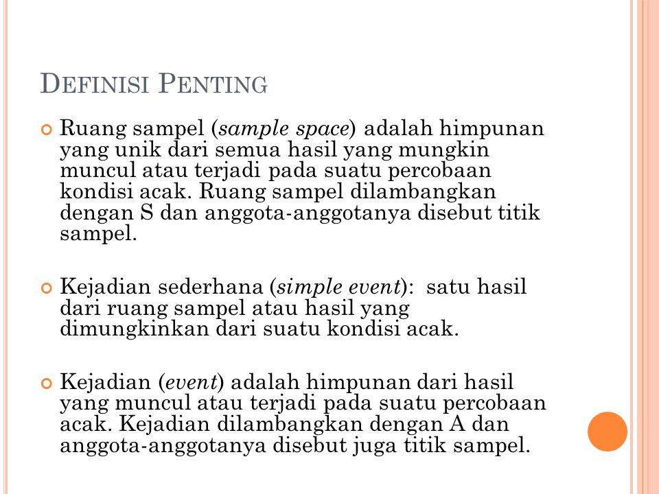 Definisi Penting