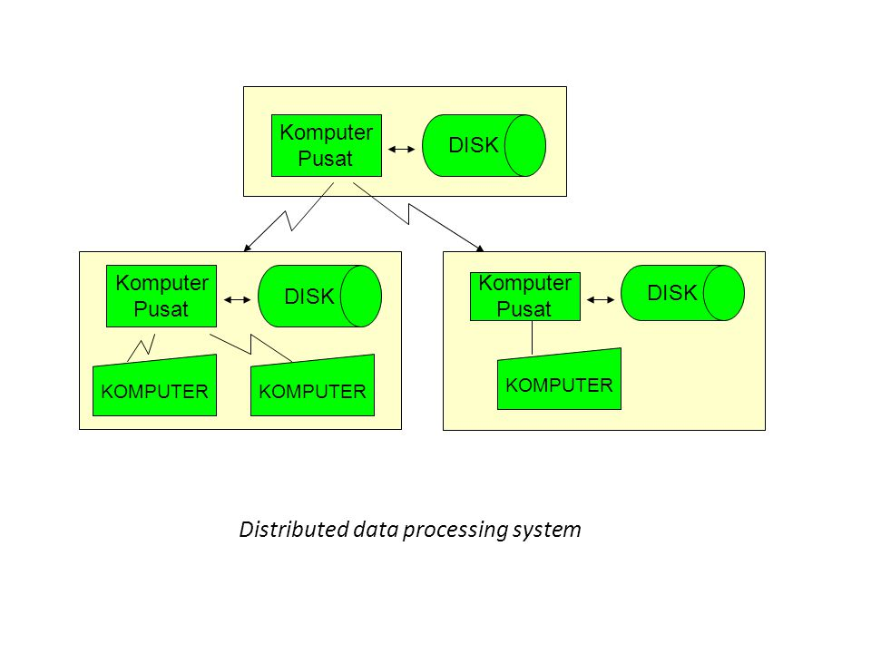 Distributed data processing system