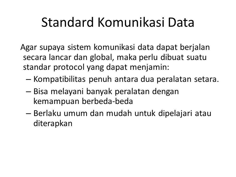 Standard Komunikasi Data