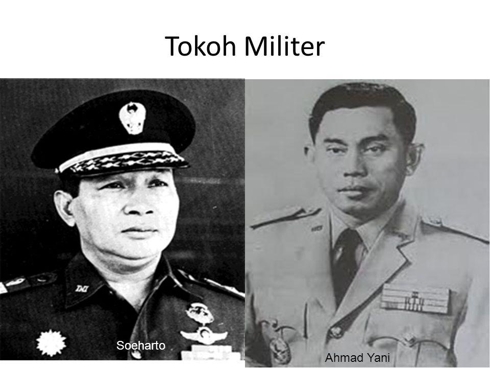 Tokoh Militer Soeharto Ahmad Yani
