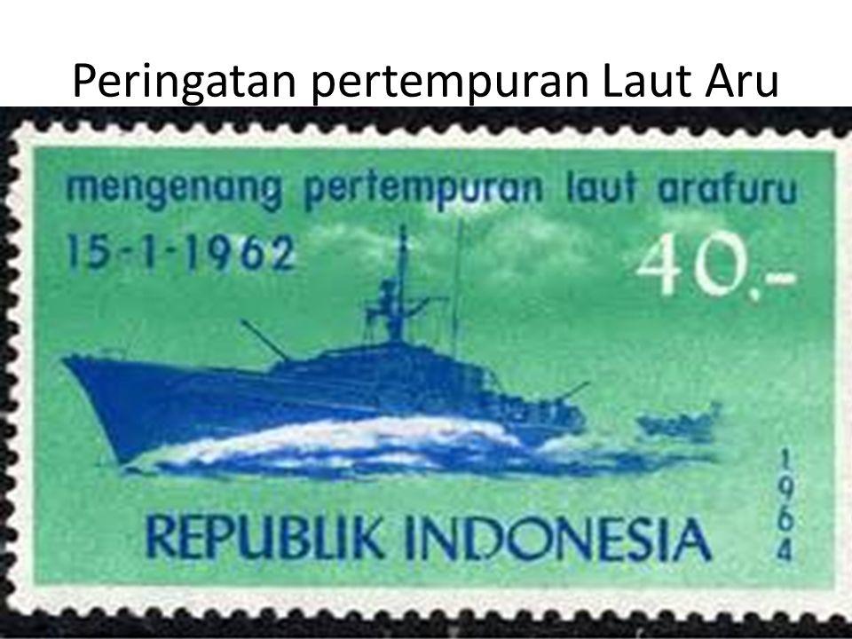 Peringatan pertempuran Laut Aru