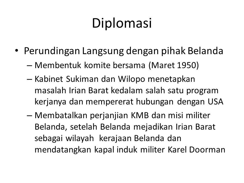 Diplomasi Perundingan Langsung dengan pihak Belanda