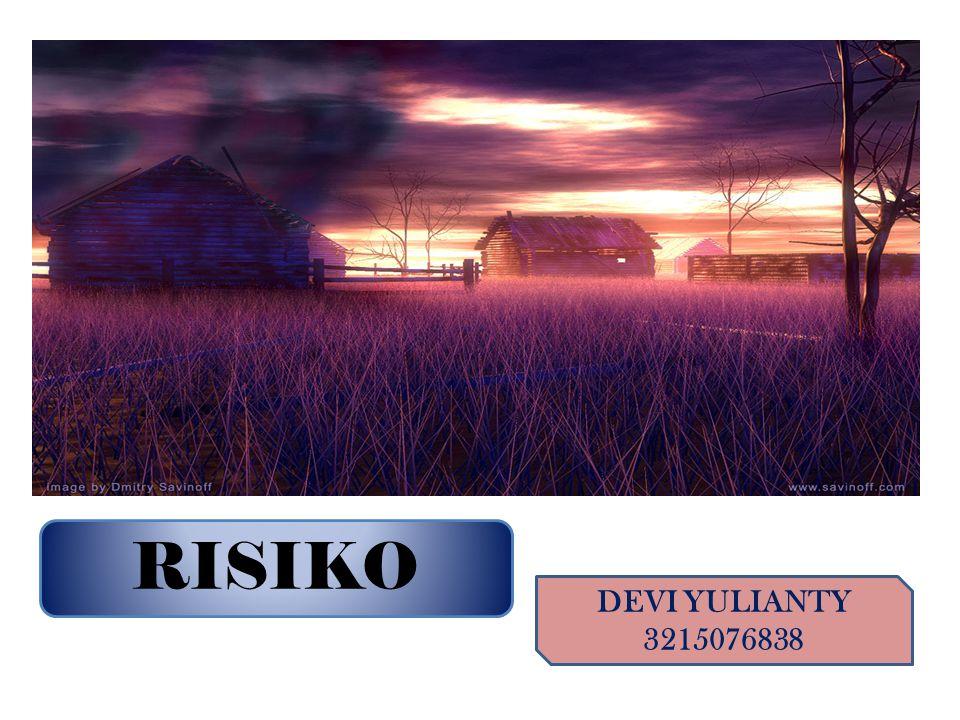 RISIKO DEVI YULIANTY 3215076838