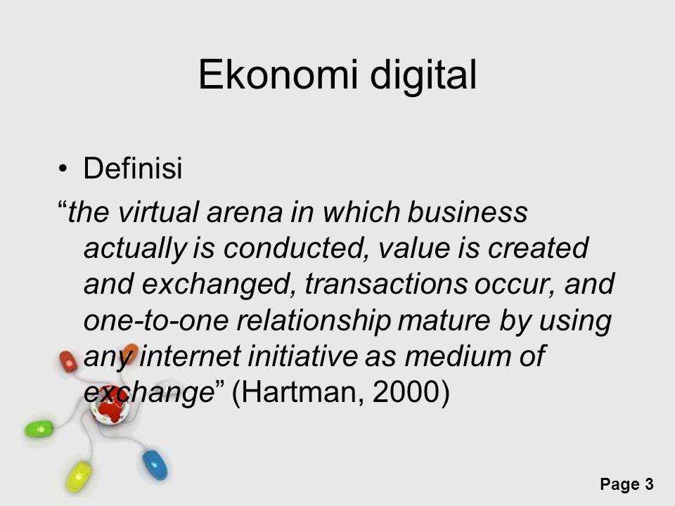 Ekonomi digital Definisi