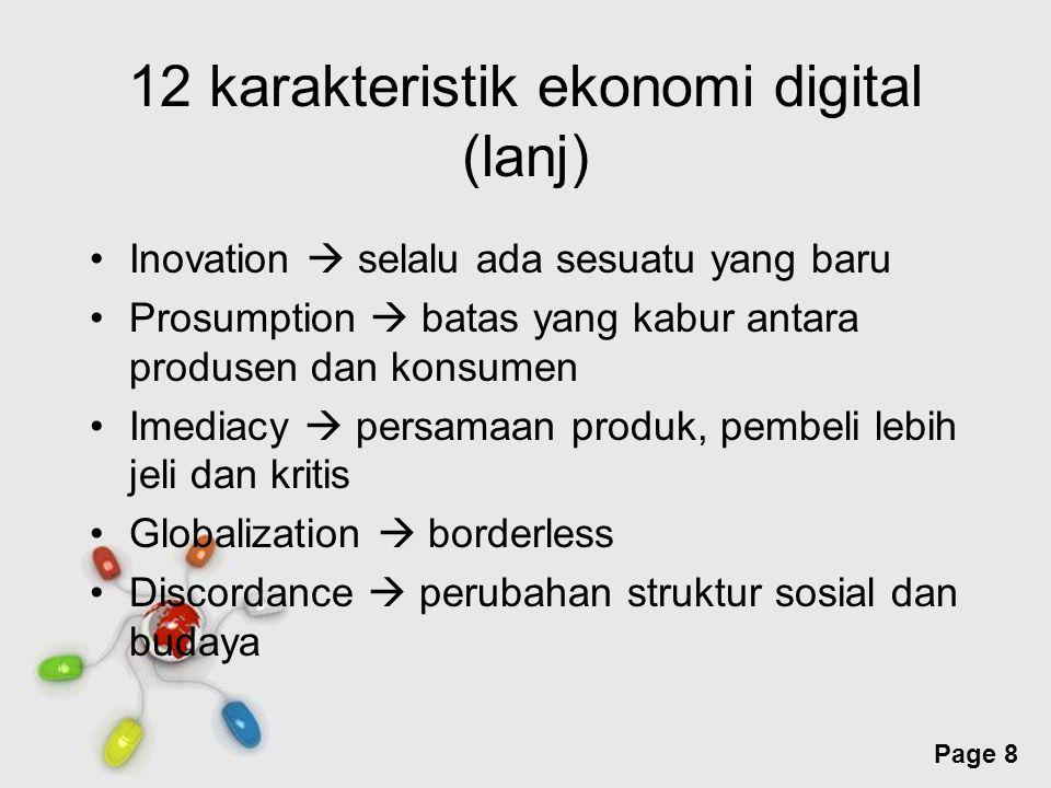 12 karakteristik ekonomi digital (lanj)