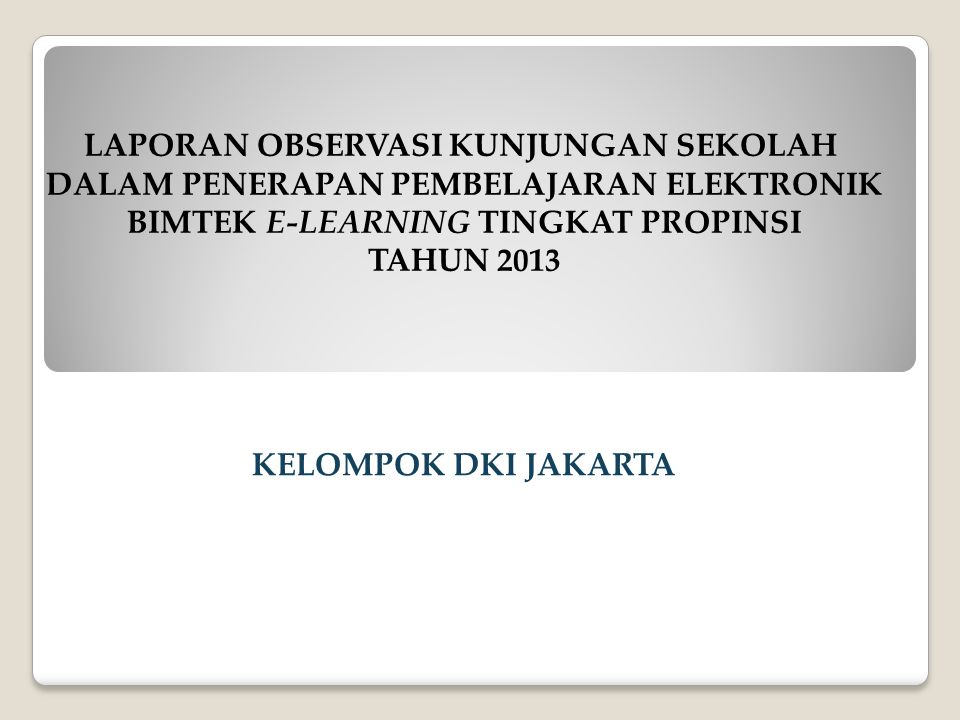 TAHUN 2013 KELOMPOK DKI JAKARTA
