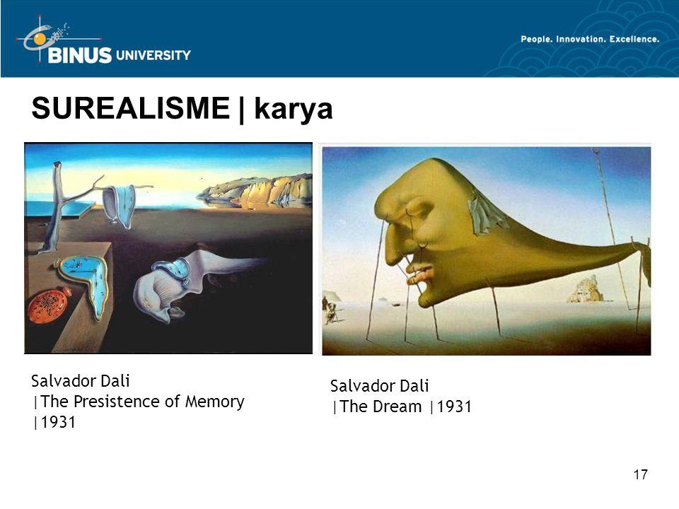 SUREALISME | karya Salvador Dali Salvador Dali