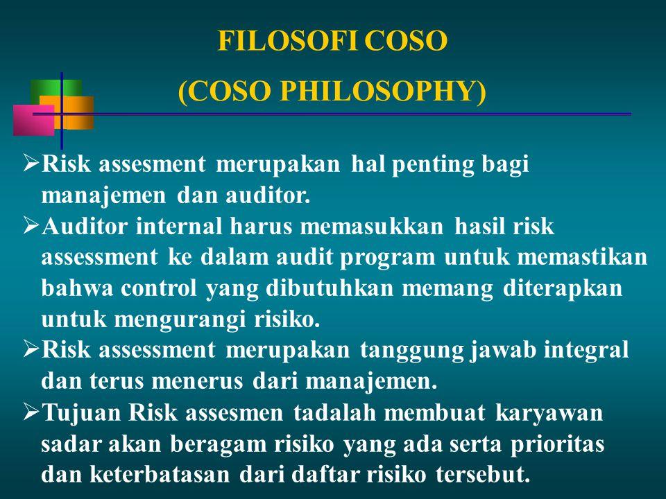 FILOSOFI COSO (COSO PHILOSOPHY)