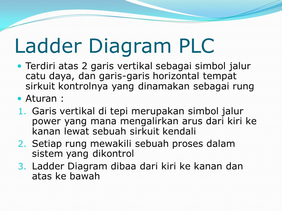 Ladder Diagram PLC