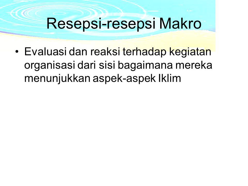 Resepsi-resepsi Makro