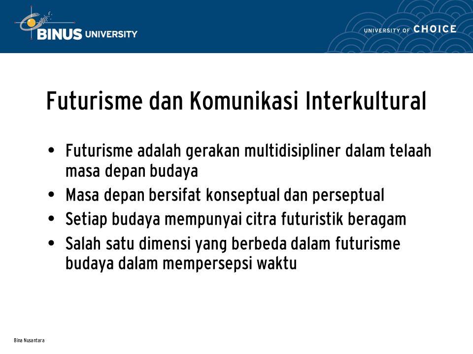 Futurisme dan Komunikasi Interkultural