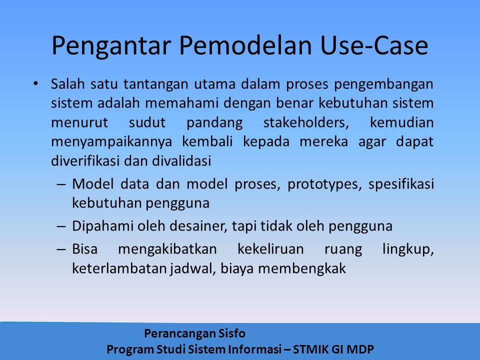 Pengantar Pemodelan Use-Case
