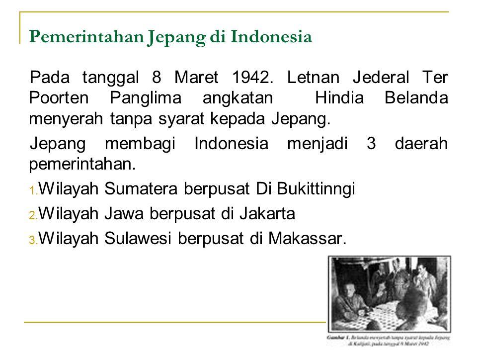Pemerintahan Jepang di Indonesia
