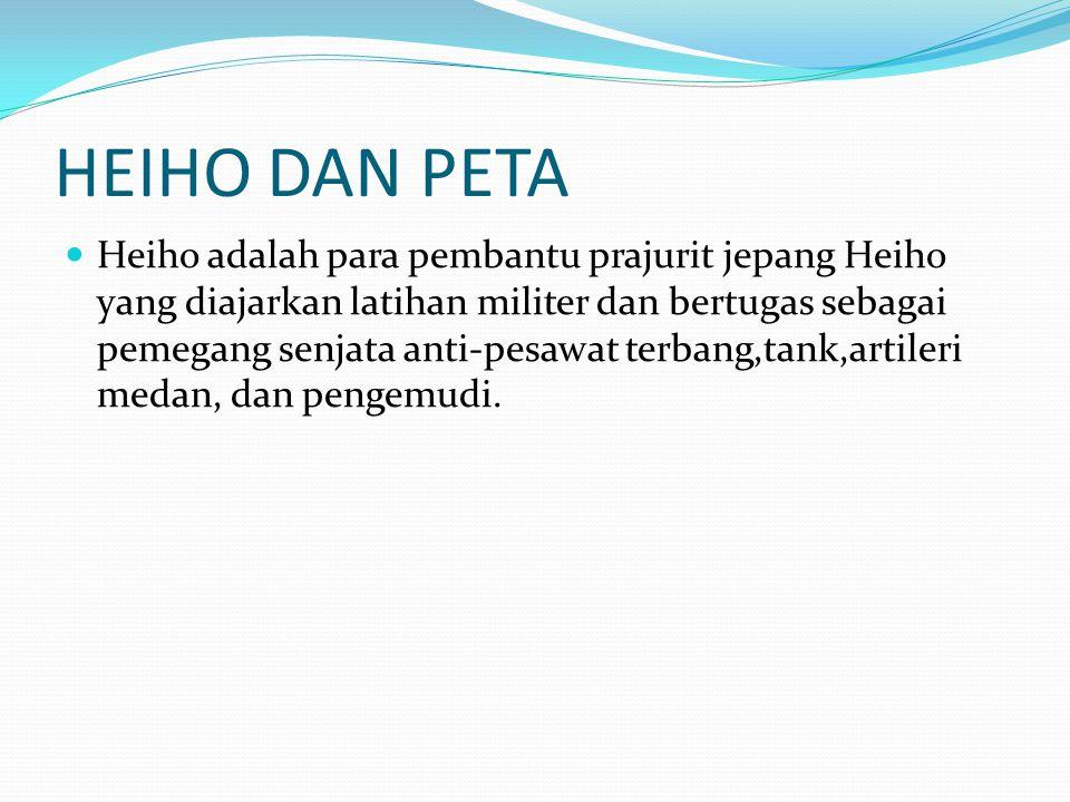 HEIHO DAN PETA