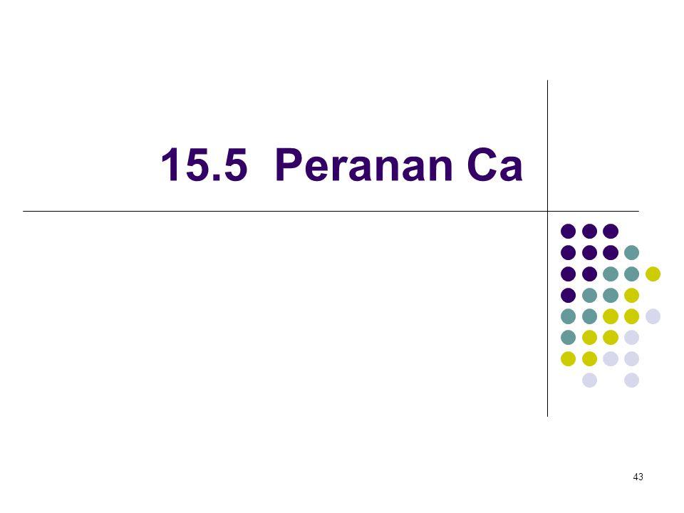 15.5 Peranan Ca