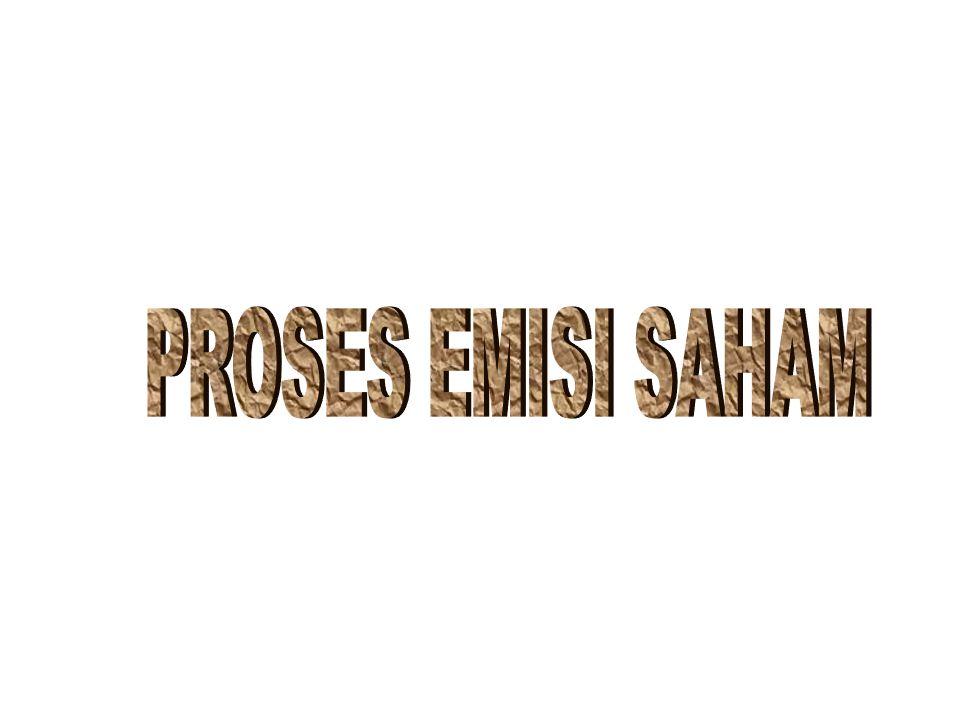 PROSES EMISI SAHAM