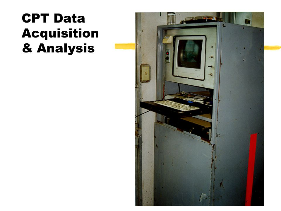 CPT Data Acquisition & Analysis