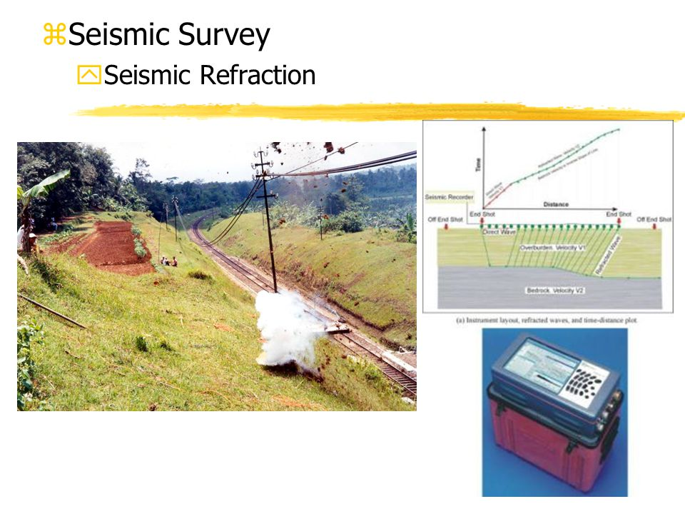 Seismic Survey Seismic Refraction