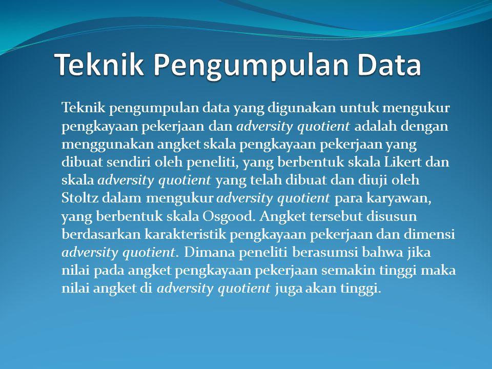 Teknik Pengumpulan Data