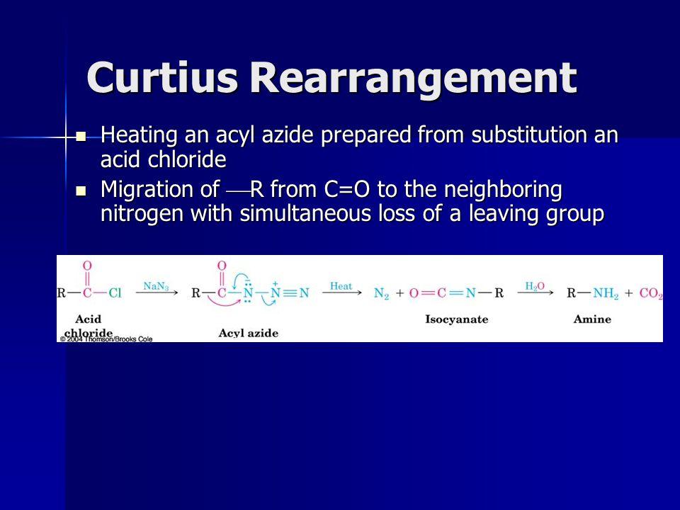 Curtius Rearrangement