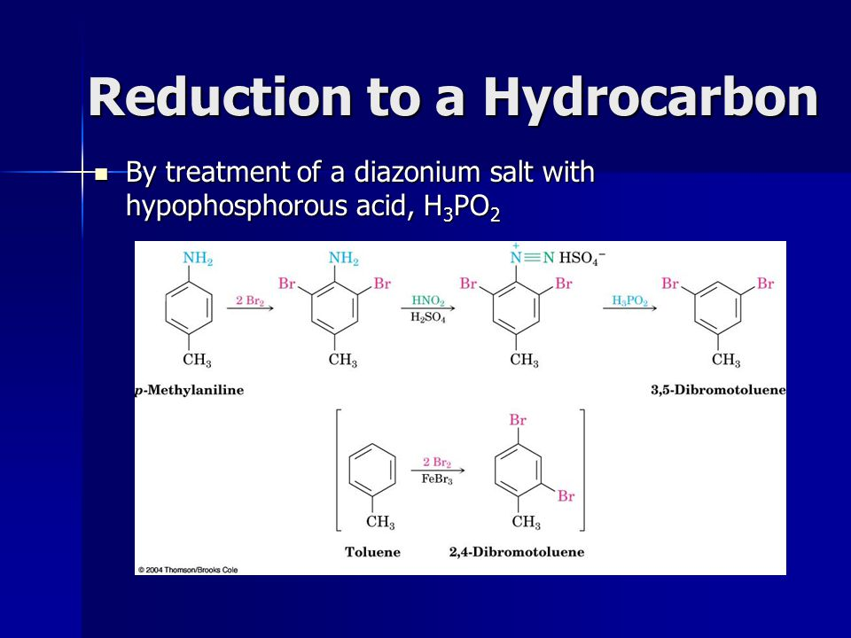 Reduction to a Hydrocarbon