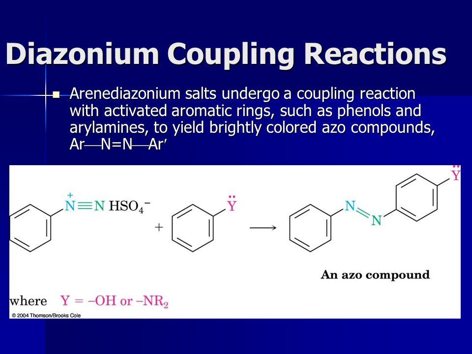 Diazonium Coupling Reactions