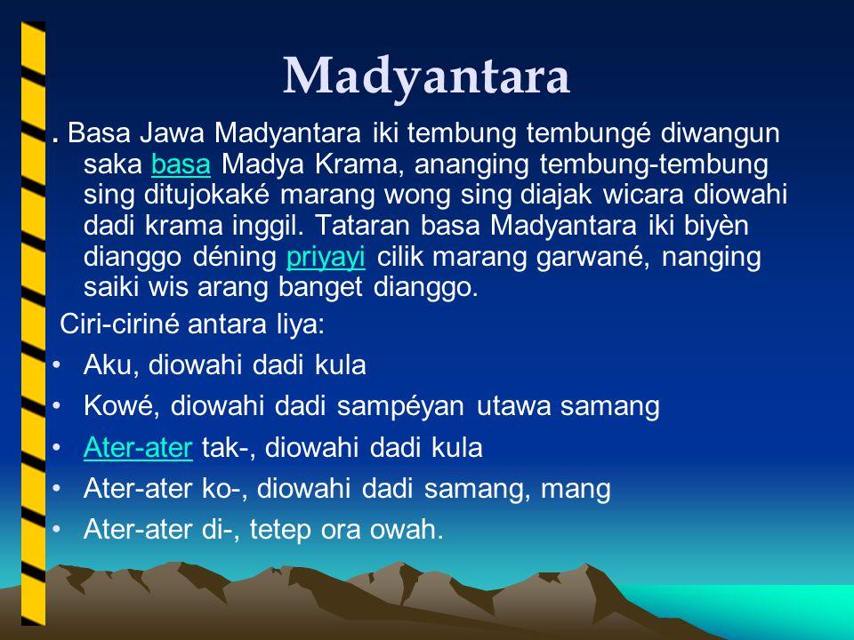 Madyantara