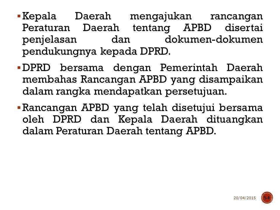 Renja SKPD disusun dengan pendekatan prestasi kerja yang akan dicapai.