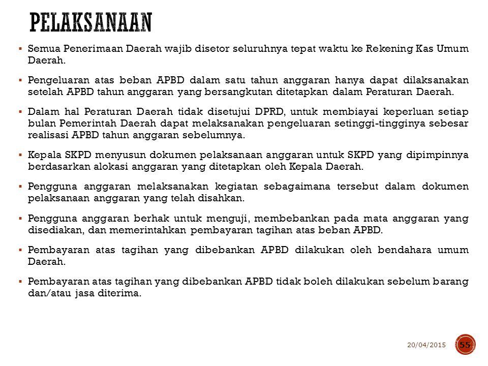 Kepala Daerah mengajukan rancangan Peraturan Daerah tentang APBD disertai penjelasan dan dokumen-dokumen pendukungnya kepada DPRD.