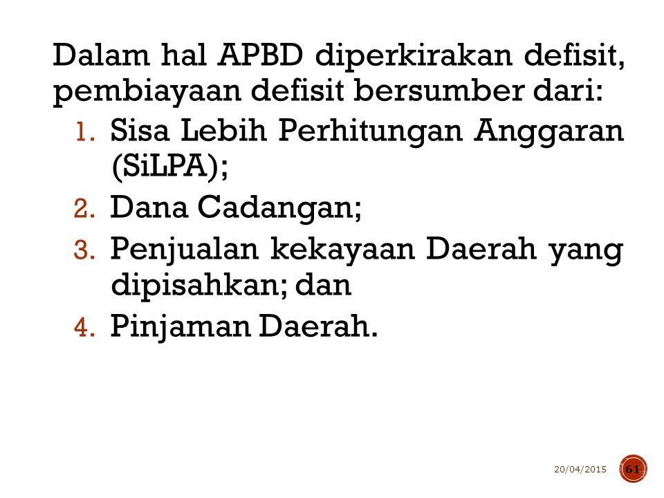 Pengendalian Menteri Keuangan menetapkan batas maksimal jumlah kumulatif defisit APBN dan APBD.