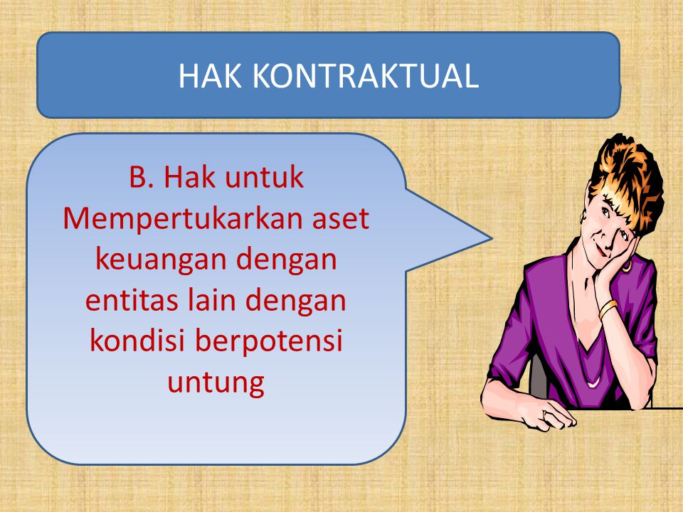 HAK KONTRAKTUAL B.