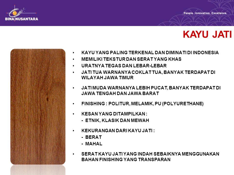 KAYU JATI KAYU YANG PALING TERKENAL DAN DIMINATI DI INDONESIA