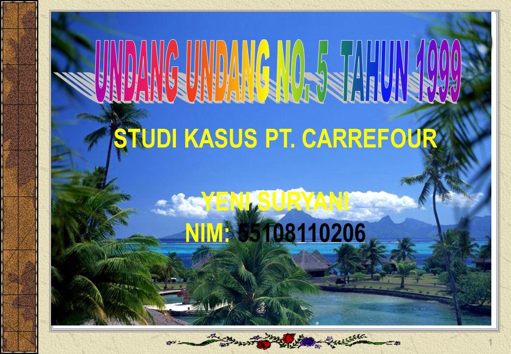 STUDI KASUS PT. CARREFOUR