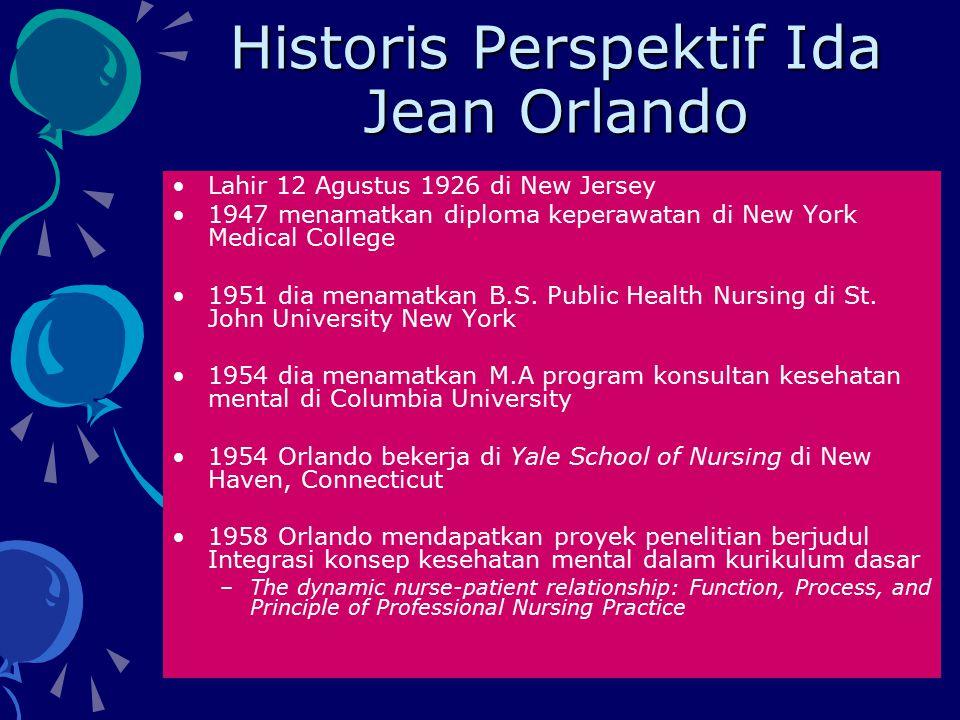 Historis Perspektif Ida Jean Orlando