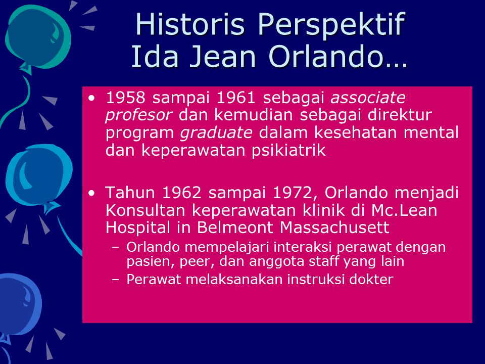 Historis Perspektif Ida Jean Orlando…