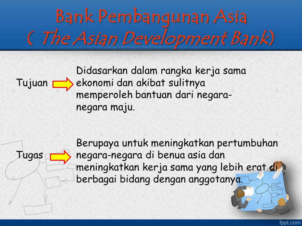 Bank Pembangunan Asia ( The Asian Development Bank)