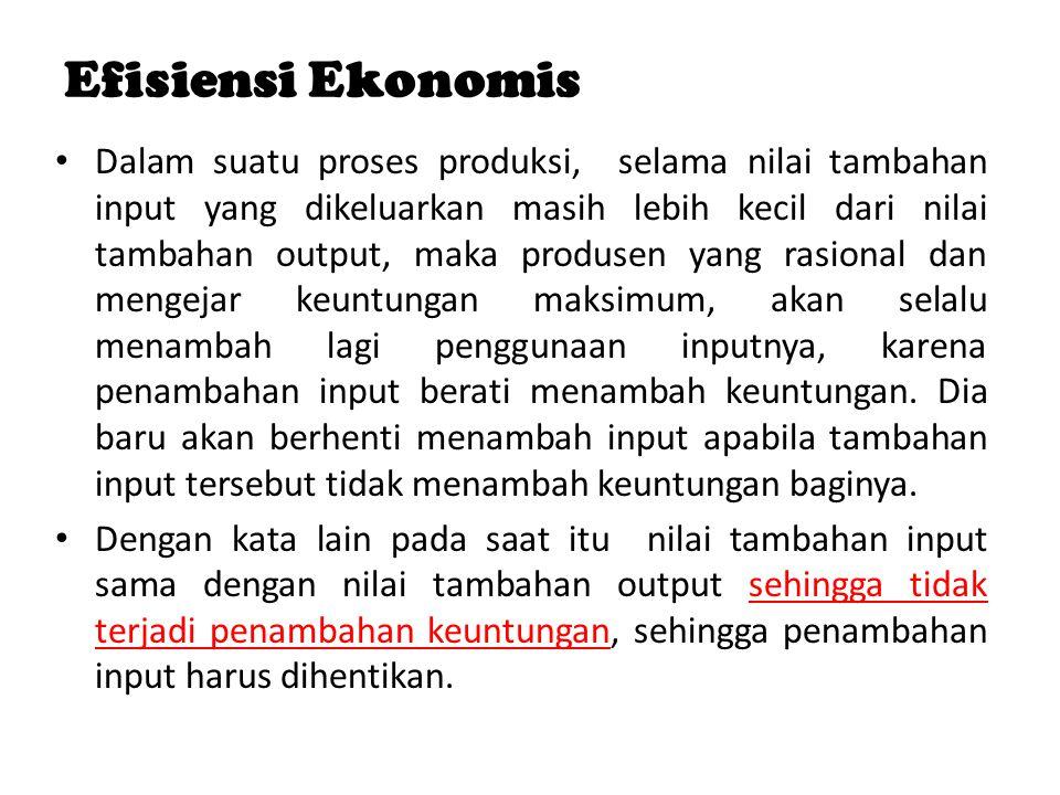 Efisiensi Ekonomis