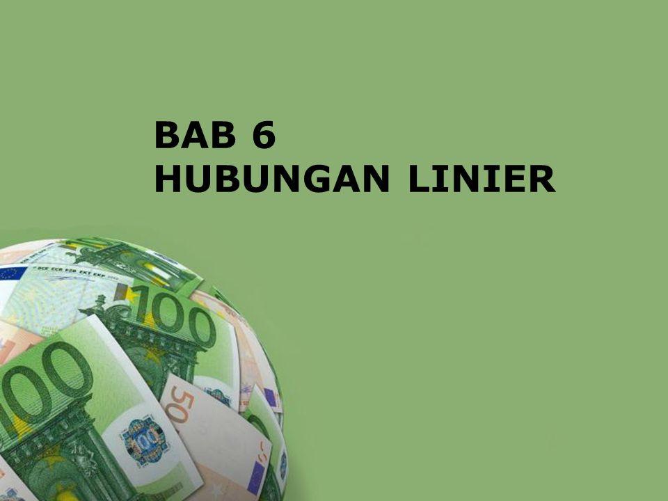 BAB 6 HUBUNGAN LINIER Powerpoint Templates