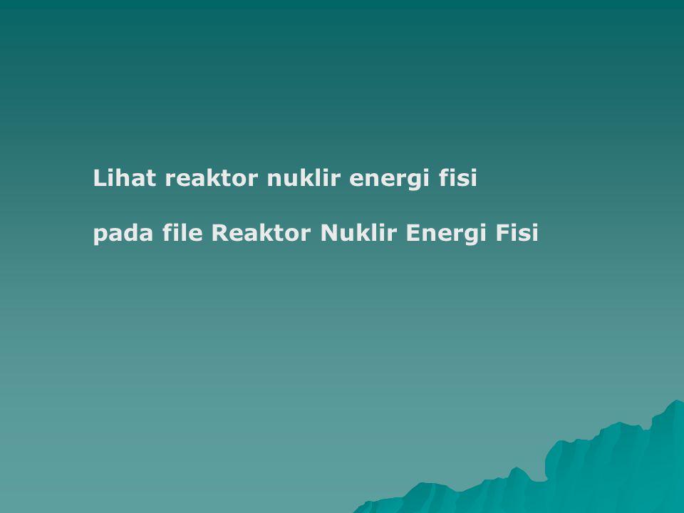 Lihat reaktor nuklir energi fisi