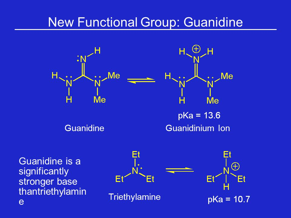 New Functional Group: Guanidine
