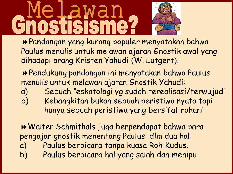 Melawan Gnostisisme