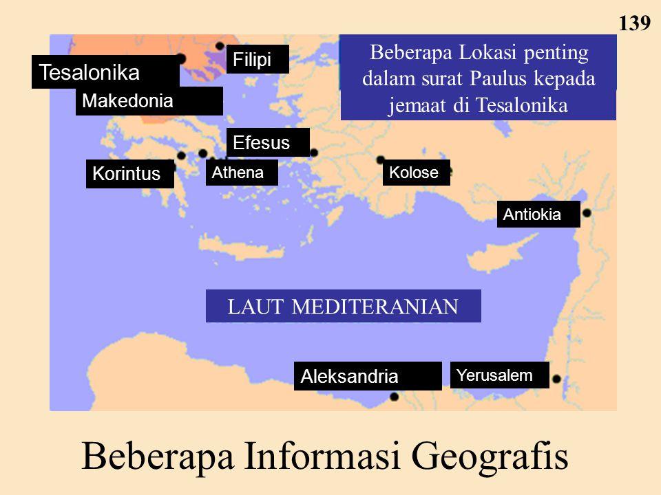 Beberapa Informasi Geografis