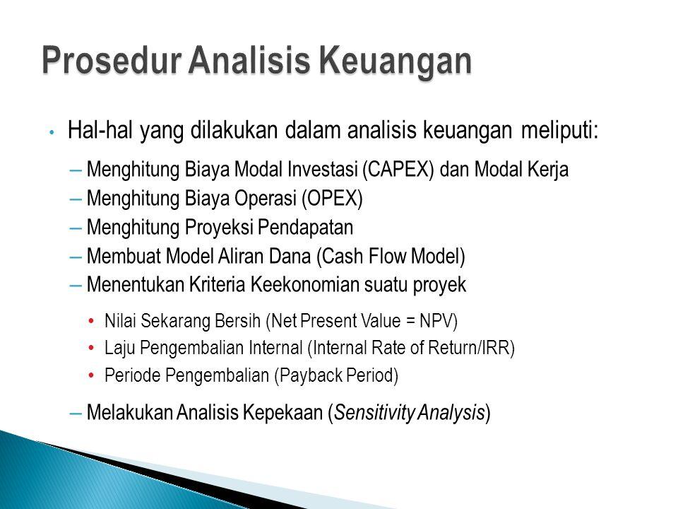 Prosedur Analisis Keuangan