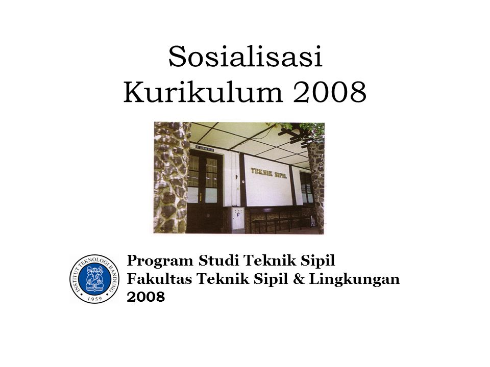 Sosialisasi Kurikulum 2008